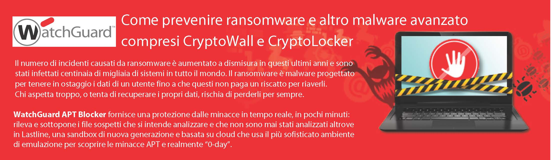 CryptoBlocker Watchguard